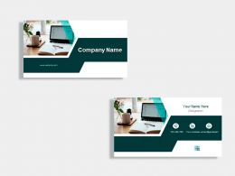 Content Writer Business Card Design Template