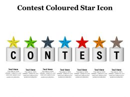 Contest Coloured Star Icon