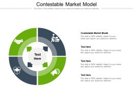 Contestable Market Model Ppt Powerpoint Presentation Outline File Formats Cpb