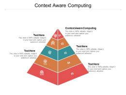 Context Aware Computing Ppt Powerpoint Presentation Icon Introduction Cpb