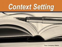 Context Setting Ppt Professional Background Designs Hearing All The Voice