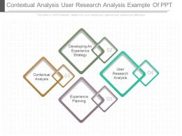 Contextual Analysis User Research Analysis Example Of Ppt