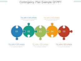Contingency Plan Example Of Ppt