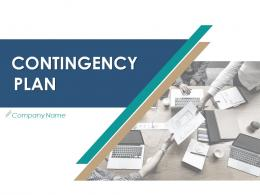 Contingency Plan Powerpoint Presentation Slides