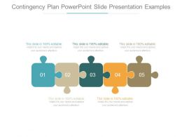 Contingency Plan Powerpoint Slide Presentation Examples