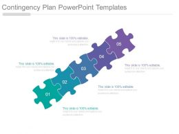 Contingency Plan Powerpoint Templates