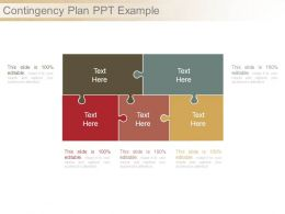 Contingency Plan Ppt Example