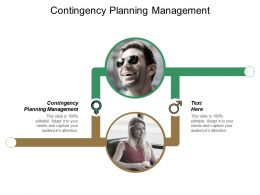 Contingency Planning Management Ppt Powerpoint Presentation File Cpb