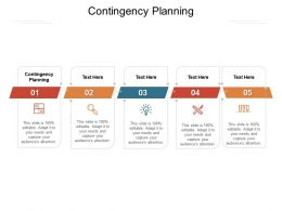 Contingency Planning Ppt Powerpoint Presentation Show Topics Cpb