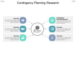 Contingency Planning Research Ppt Powerpoint Presentation Infographic Cpb