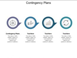Contingency Plans Ppt Powerpoint Presentation Diagram Templates Cpb
