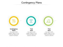 Contingency Plans Ppt Powerpoint Presentation File Layout Ideas Cpb