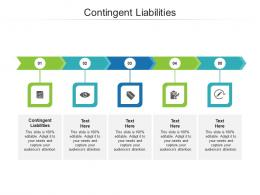 Contingent Liabilities Ppt Powerpoint Presentation Portfolio Icons Cpb