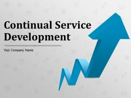 Continual Service Development Powerpoint Presentation Slides