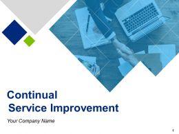 Continual Service Improvement Powerpoint Presentation Slides