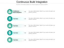 Continuous Build Integration Ppt Powerpoint Presentation Model Background Cpb