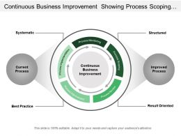 Continuous Business Improvement Showing Process Scoping Review Implementation
