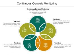 Continuous Controls Monitoring Ppt Powerpoint Presentation File Graphics Pictures Cpb