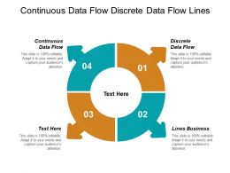 Continuous Data Flow Discrete Data Flow Lines Business Cpb