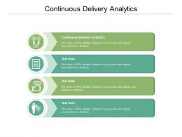 Continuous Delivery Analytics Ppt Powerpoint Presentation Infographics Picture Cpb