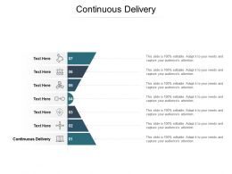 Continuous Delivery Ppt Powerpoint Presentation Outline Designs Download Cpb