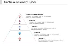 Continuous Delivery Server Ppt Powerpoint Presentation File Deck Cpb