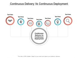 Continuous Delivery Vs Continuous Deployment Ppt Powerpoint Presentation File Styles Cpb