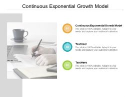 Continuous Exponential Growth Model Ppt Powerpoint Presentation Icon Portrait Cpb