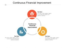 Continuous Financial Improvement Ppt Powerpoint Presentation Show Grid Cpb