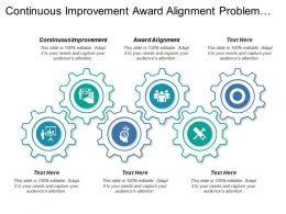 Continuous Improvement Award Alignment Problem Statement Process Capability