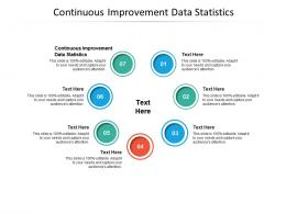 Continuous Improvement Data Statistics Ppt Powerpoint Presentation Show Visual Aids Cpb