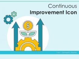 Continuous Improvement Icon Business Development Growth Employee Development