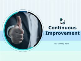Continuous Improvement Powerpoint Presentation Slides