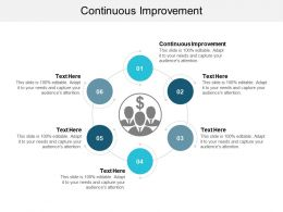 Continuous Improvement Ppt Powerpoint Presentation File Microsoft Cpb