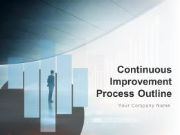 Continuous Improvement Process Outline Powerpoint Presentation Slides