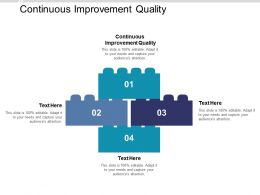 Continuous Improvement Quality Ppt Powerpoint Presentation Infographic Template Portrait Cpb