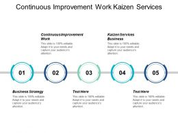 Continuous Improvement Work Kaizen Services Business Business Strategy Cpb