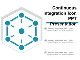 Continuous Integration Icon Ppt Presentation