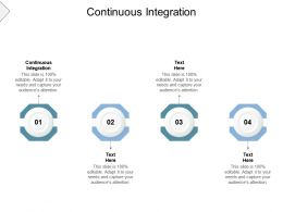 Continuous Integration Ppt Powerpoint Presentation Professional Gallery Cpb