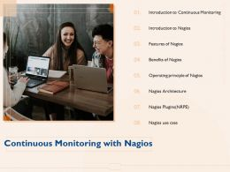 Continuous Monitoring With Nagios Plugins M1091 Ppt Powerpoint Presentation Diagram Ppt