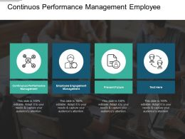 Continuous Performance Management Employee Engagement Management Present Future Cpb