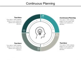 Continuous Planning Ppt Powerpoint Presentation Show Cpb