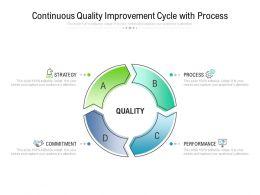 Continuous Quality Improvement Cycle With Process
