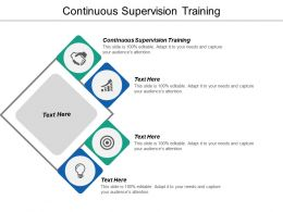Continuous Supervision Training Ppt Powerpoint Presentation Gallery Grid Cpb