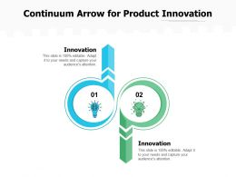 Continuum Arrow For Product Innovation