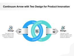 Continuum Arrow With Two Design For Product Innovation