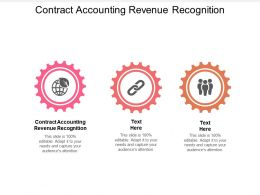 Contract Accounting Revenue Recognition Ppt Powerpoint Presentation Pictures Example Topics Cpb