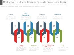 Contract Administration Business Template Presentation Design