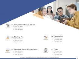 Contract And Terms For Business Proposal Ppt Powerpoint Presentation Pictures