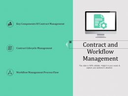 Contract And Workflow Management N574 Powerpoint Presentation Tips